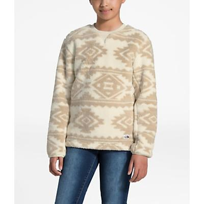 The North Face Youth Campshire Crew Top - Vintage White Tribal Geo Print