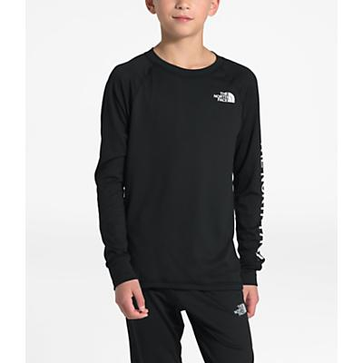 The North Face Youth Poly Warm Crew Top - TNF Black