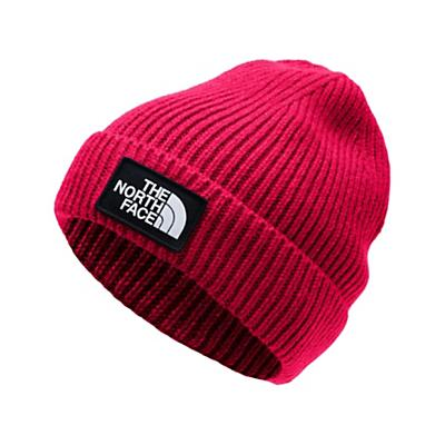 The North Face Youth Logo Box Cuffed Beanie