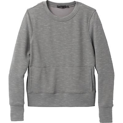 Prana Sunrise Sweatshirt - Heather Grey - Women
