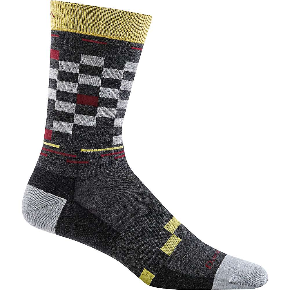 Darn Tough Men's Derby Crew Light Sock - XL - Charcoal