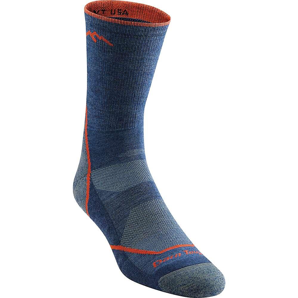 Darn Tough Men's Light Hiker Micro Crew Light Cushion Sock - Medium - Denim