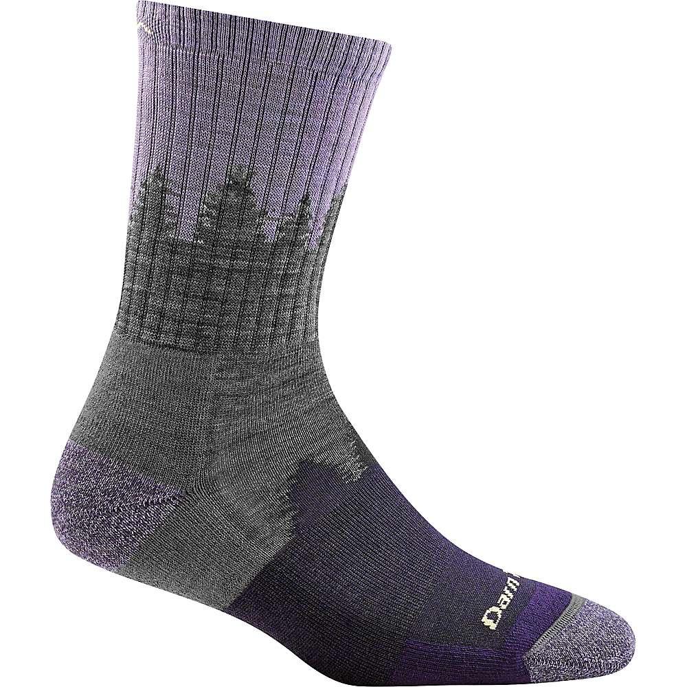 Darn Tough Women's Treeline Micro Crew Cushion Sock - Small - Lavender