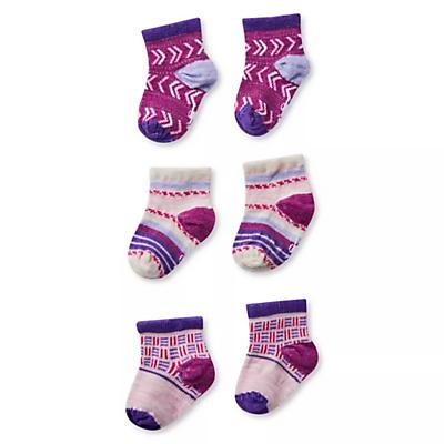 Smartwool Baby Bootie Batch Sock - Pink Nectar