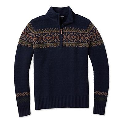 Smartwool CHUP Hansker Half Zip Sweater - Deep Navy Heather - Men