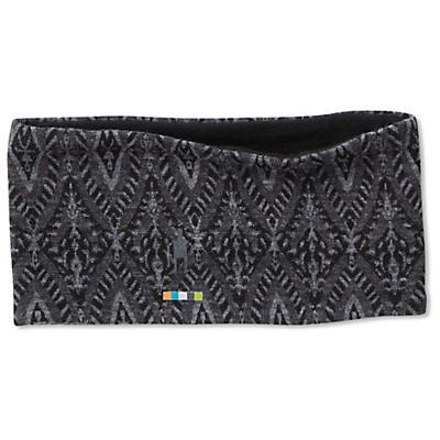 Smartwool Merino 250 Pattern Reversible Headband - Black Medallion
