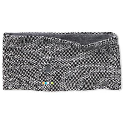 Smartwool Merino 250 Pattern Reversible Headband - Black Snow Swirl
