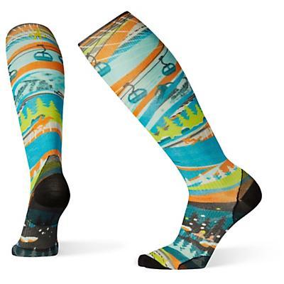 Smartwool PhD Ski Ultra Light 25Th Anniversary Printed Sock - Multi Color