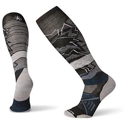 Smartwool PhD Ski Light Elite Pattern Sock - Black