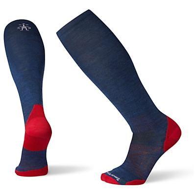 Smartwool PhD Ski Ultra Light Sock - Alpine Blue