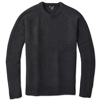 Smartwool Ripple Ridge Crew Sweater - Charcoal Heather - Men