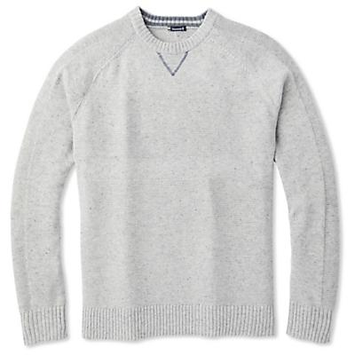 Smartwool Ripple Ridge Crew Sweater - Light Gray Donegal - Men