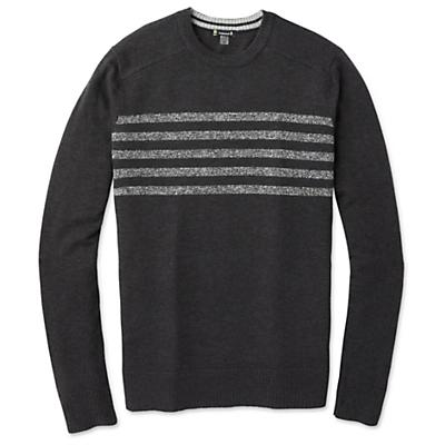 Smartwool Sparwood Pattern Crew Sweater - Charcoal Heather - Men