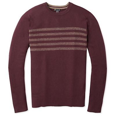 Smartwool Sparwood Pattern Crew Sweater - Woodsmoke Heather - Men