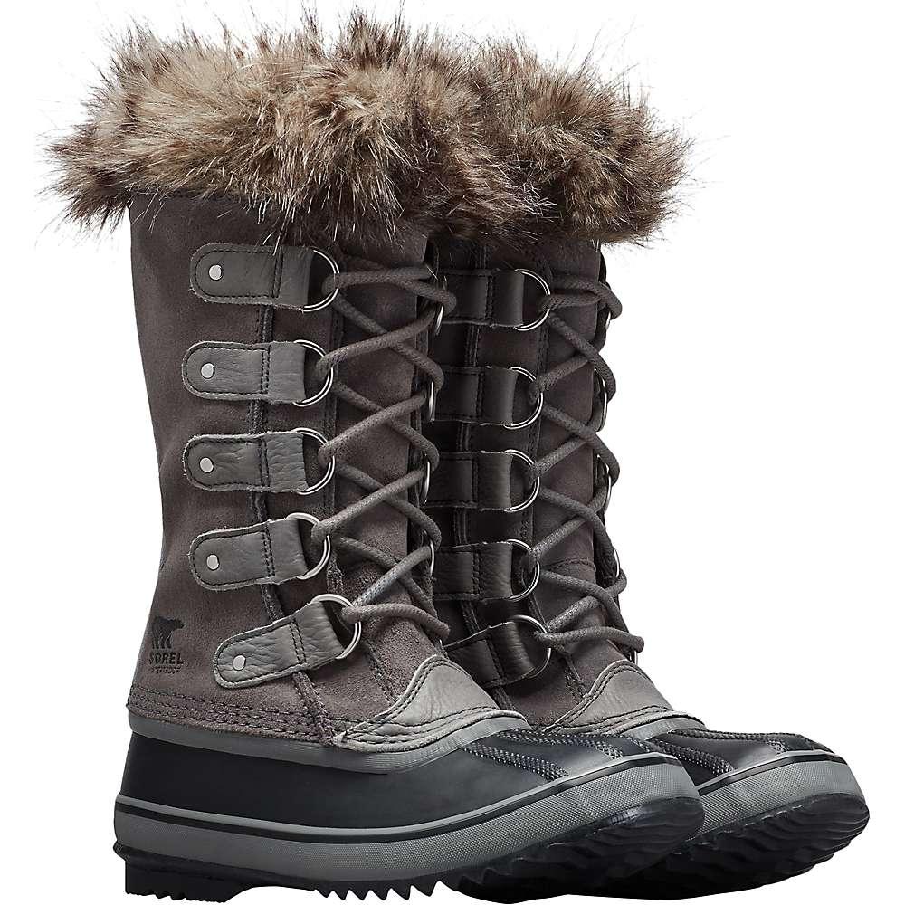 Sorel Women's Joan Of Arctic Boot - 10 - Quarry   Black