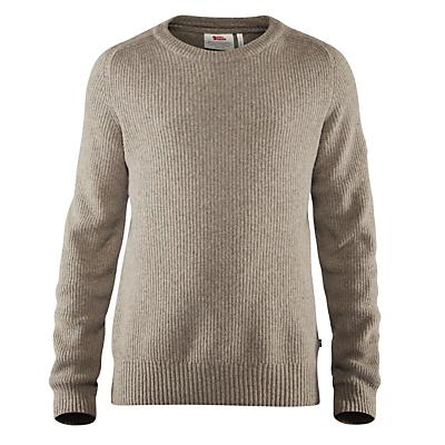 Fjallraven Greenland Re-Wool Crew-Neck Sweater - Driftwood - Men