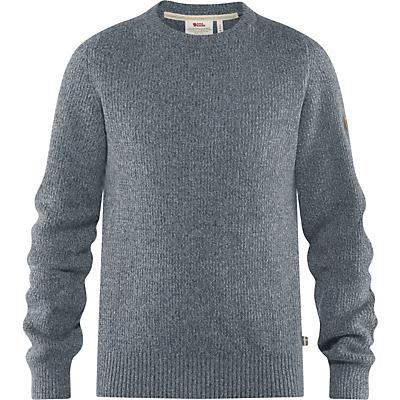 Fjallraven Greenland Re-Wool Crew-Neck Sweater - Thunder Grey - Men