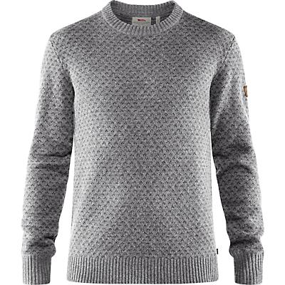 Fjallraven Ovik Nordic Sweater - Grey - Men