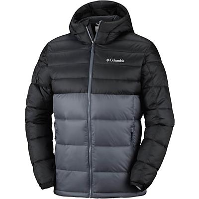 Columbia Buck Butte Insulated Hooded Jacket - Graphite/Black - Men