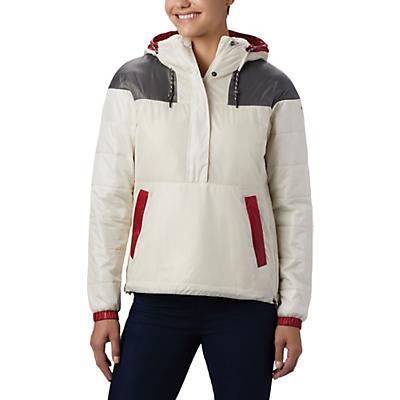 Columbia Columbia Lodge Pullover Jacket - Shiny Chalk / City Grey / Beet - Women