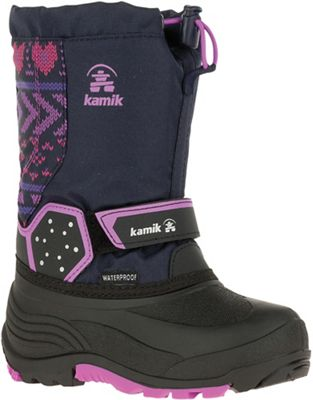 Kamik Youth Icetrack P Boot - Navy Orchid