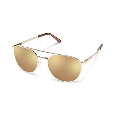 Suncloud Motorist Sunglasses - Gold / Gold Mirror