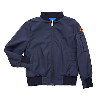 Save The Duck Unisex Lightweight Bomber Jacket - Navy Blue
