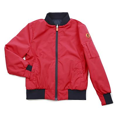 Save The Duck Unisex Lightweight Bomber Jacket - Tomato Red