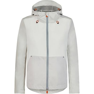 Save The Duck Womens Hooded Lightweight Mid-length Jacket - 1-S - Coconut White