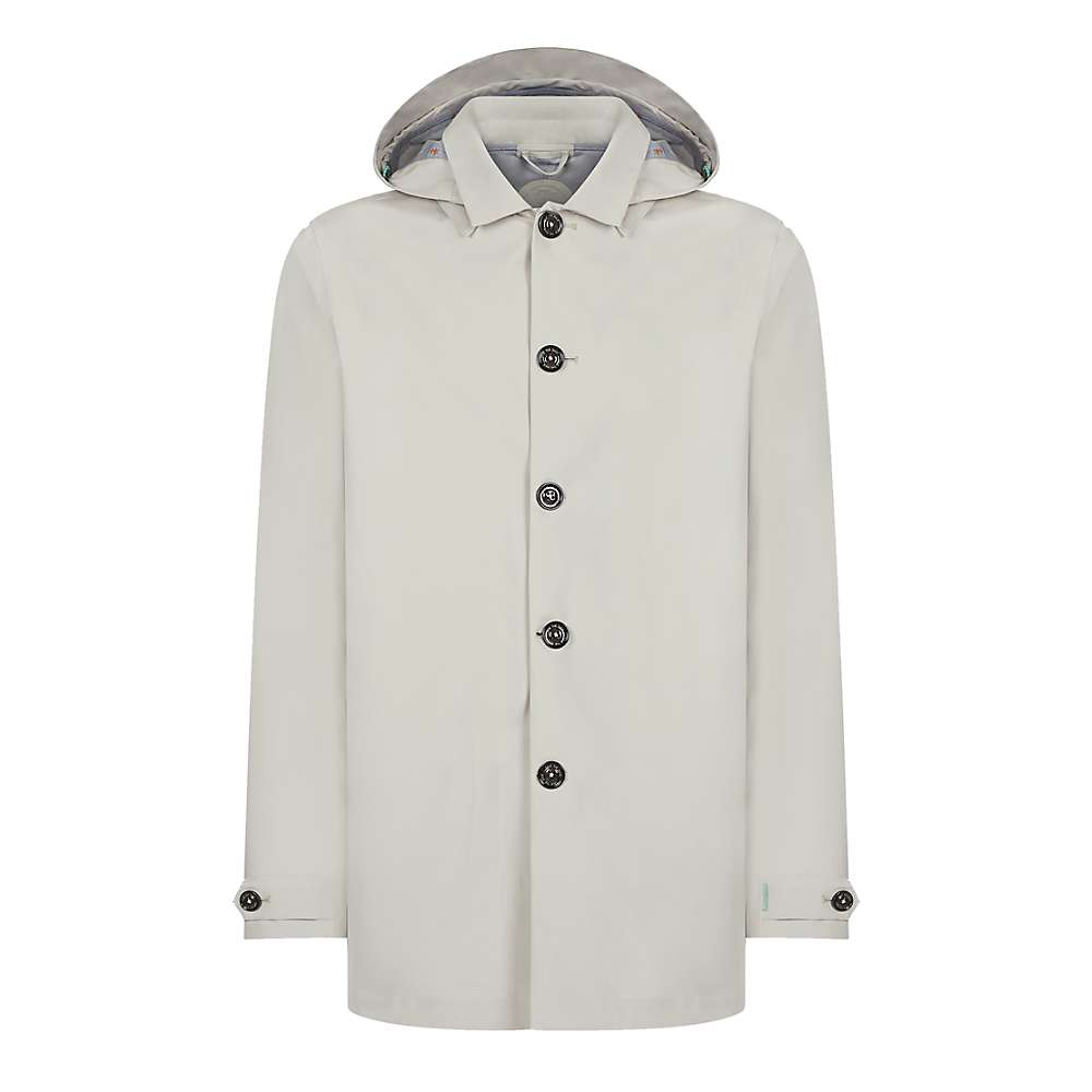 Save The Duck Recycled Hooded Rain Jacket - 1-S - Sand Beige