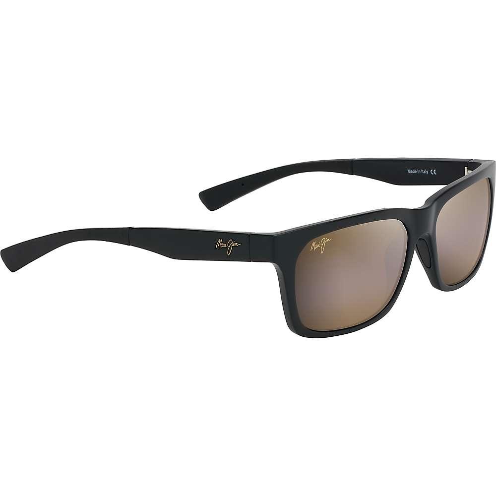 Maui Jim Boardwalk Polarized Sunglasses - One Size - Matte Black/HCL Bronze