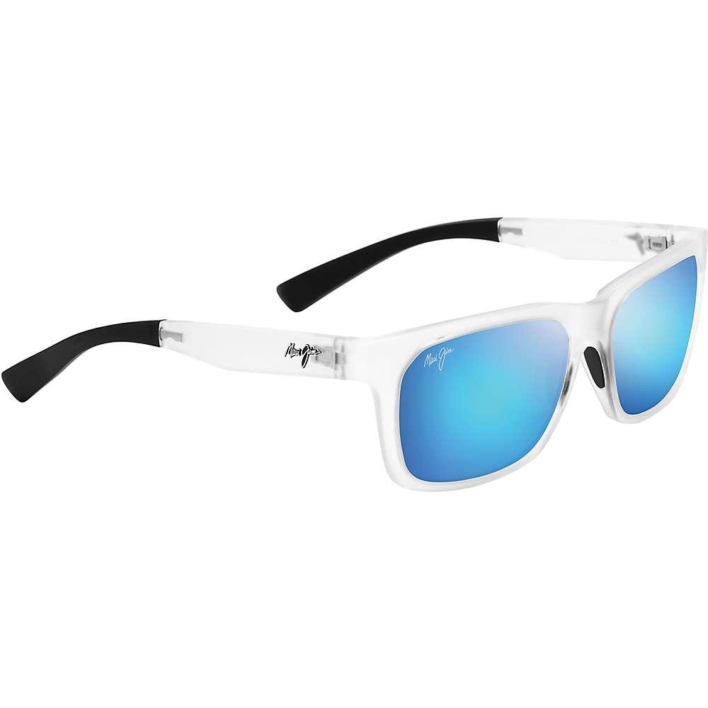 Maui Jim Boardwalk Polarized Sunglasses - One Size - Matte Crystal/Blue Hawaii