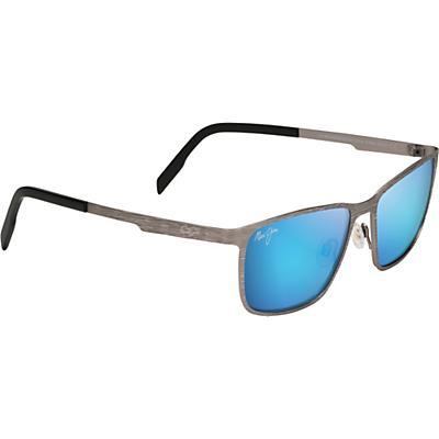 Maui Jim Cut Mountain Polarized Sunglasses - Grey/Blue Hawaii