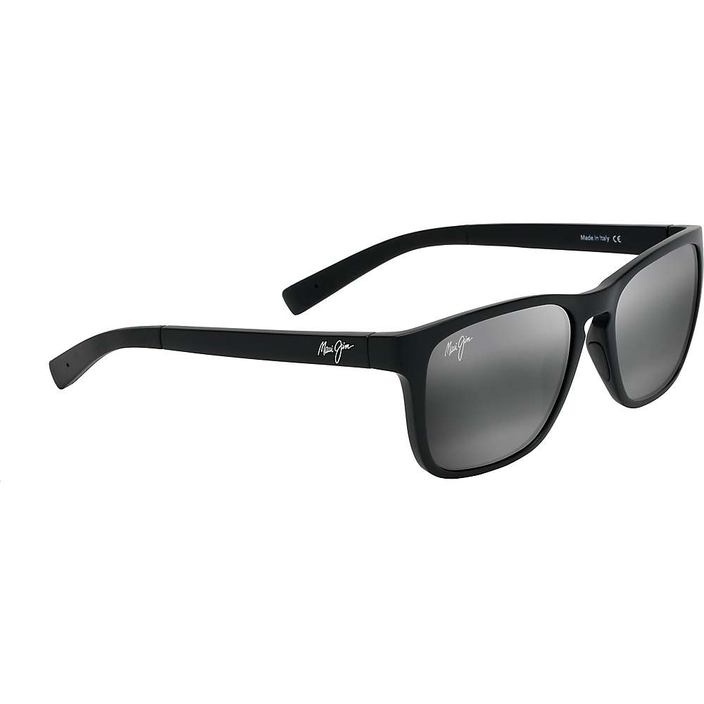 Maui Jim Longitude Polarized Sunglasses - One Size - Matte Black/Neutral Grey