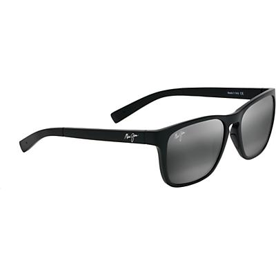 Maui Jim Longitude Polarized Sunglasses - Matte Black/Neutral Grey
