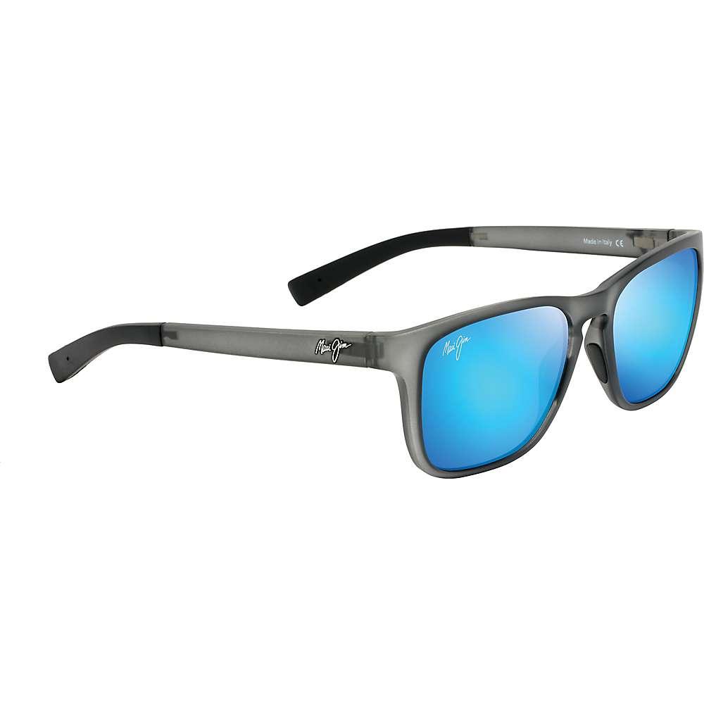 Maui Jim Longitude Polarized Sunglasses - One Size - Matte Translucent Grey/Blue Hawaii