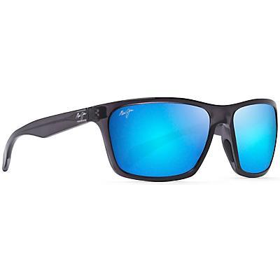 Maui Jim Makoa Polarized Sunglasses - Dark Translucent Grey/Blue Hawaii