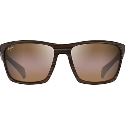 Maui Jim Makoa Polarized Sunglasses - Matte Brown Woodgrain/HCL Bronze