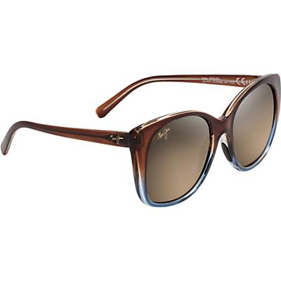 Maui Jim Mele Polarized Sunglasses - Translucent Dark Chocolate/Blue/HCL Bronze