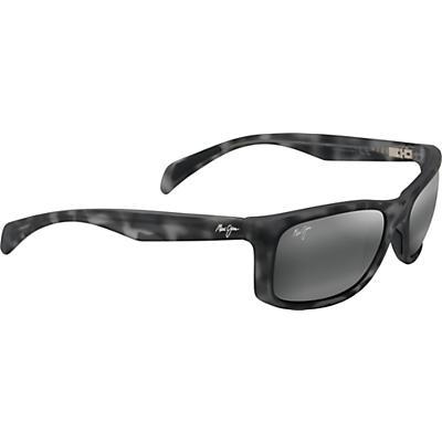Maui Jim Puhi Polarized Sunglasses - Grey Tortoise/Matte Rubber/Neutral Grey