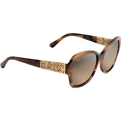 Maui Jim Swaying Palms Polarized Sunglasses - Brown/Pearl/Yellow Gold/HCL Bronze