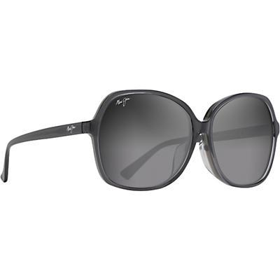 Maui Jim Taro Polarized Sunglasses - Translucent Grey/Neutral Grey