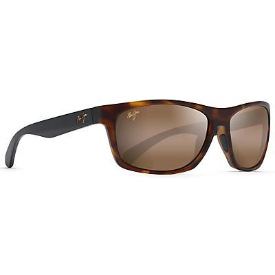 Maui Jim Tumbleland Polarized Sunglasses - Matte Tortoise/Black Temples/HCL Bronze