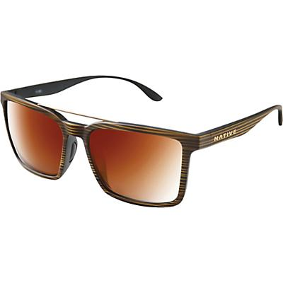 Native Four Corners Polarized Sunglasses - Wood/Brown Polarized