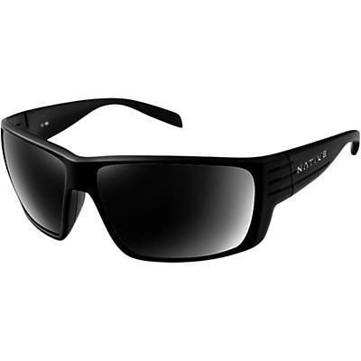 Native Griz Polarized Sunglasses - Matte Black/Grey Polarized