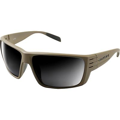 Native Griz Polarized Sunglasses - Desert Tan/Grey Polarized