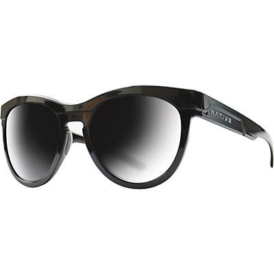 Native La Reina Polarized Sunglasses - Gloss Black Tort/Grey Polarized