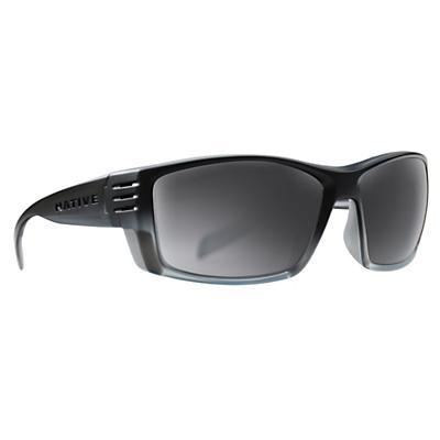 Native Raghorn Polarized Sunglasses - Smoke Fade/Silver Reflex Polarized