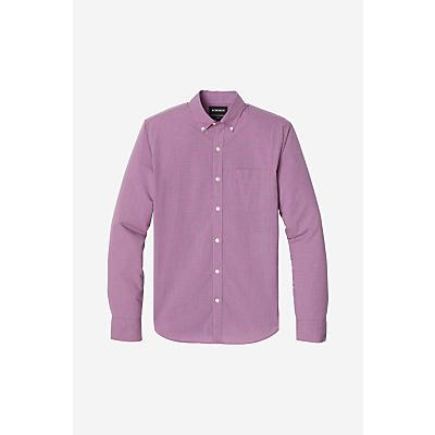 Bonobos Summer Weight Shirt - Brigitte Gingham/Cranberry - Men
