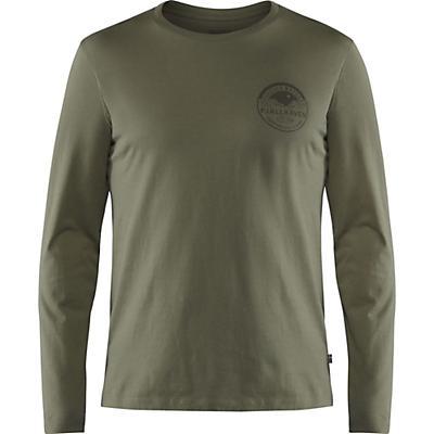 Fjallraven Forever Nature Badge LS T-Shirt - Tarmac - Men